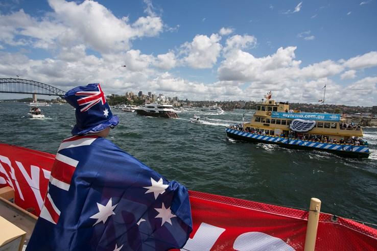 Australia Day, Sydney Australia.