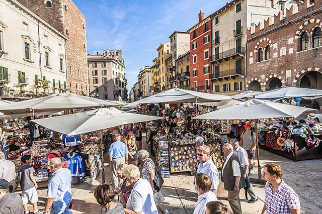Street Markets - Verona - Italy