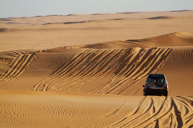 Desert Experience, 4x4 off-road driving.