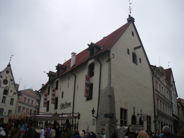 Medieval Style Restaurant In Tallinn