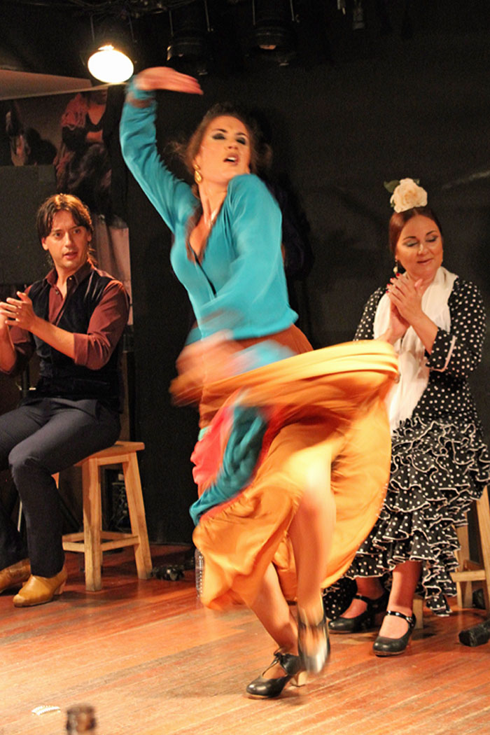 Isabel Rodríguez (Picture Supplied courtesy of Yolanda Martin at the Flamenco Guide)