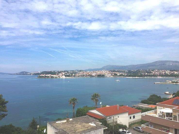 View from hotel in Podstrana
