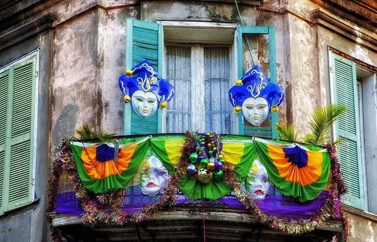 Mardis Gras House | New Orleans