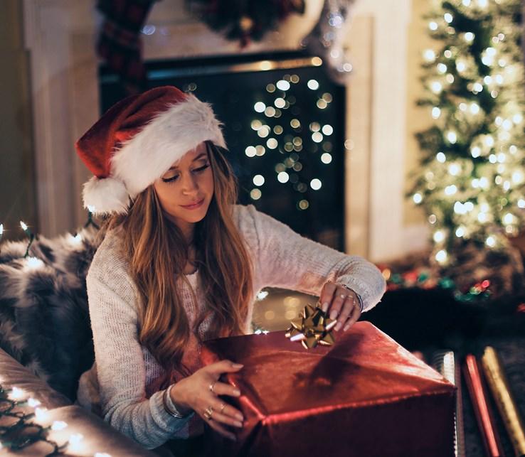 Christmas present shopping
