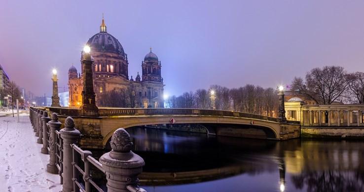 Berlin Dome in Winter