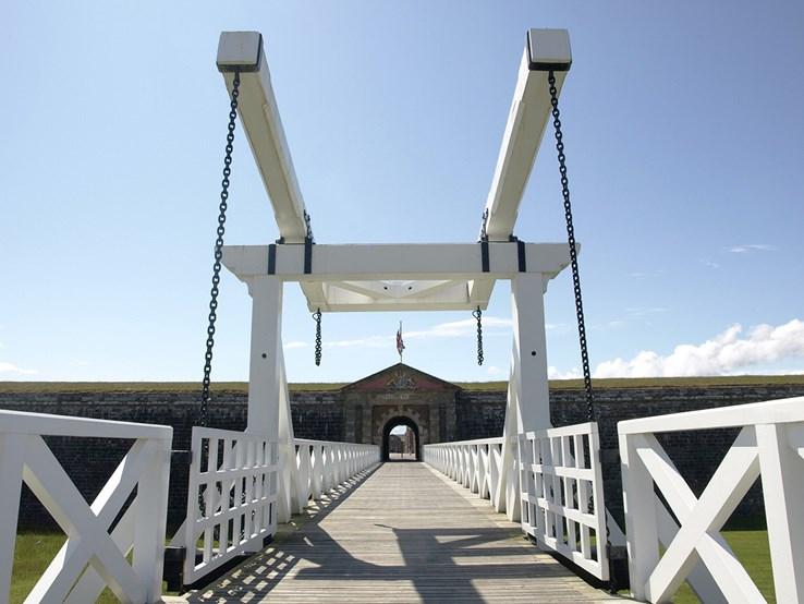 Fort George Draw Bridge | Inverness
