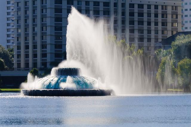 Lake Eola Park - Orlando, Florida