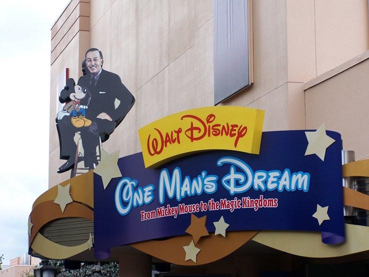 WDW Sign at Walt Disney World
