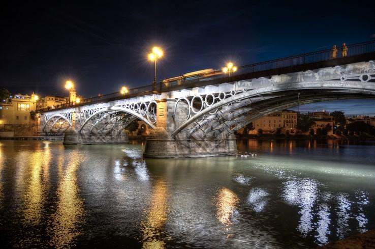 Triana Bridge, Seville.