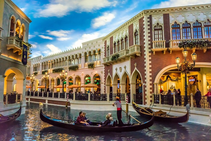 Gondola Rides at the Venetian, Las Vegas