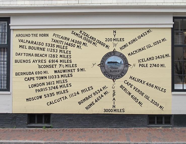 Distance Chart on Nantucket