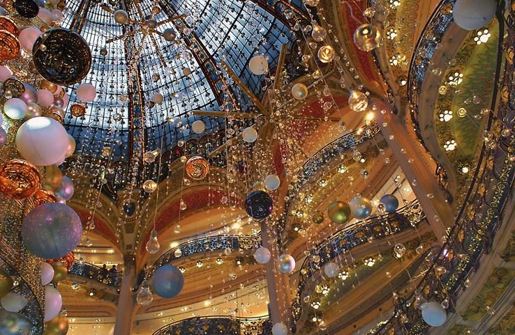 Christmas at Galeries Lafayette - Paris