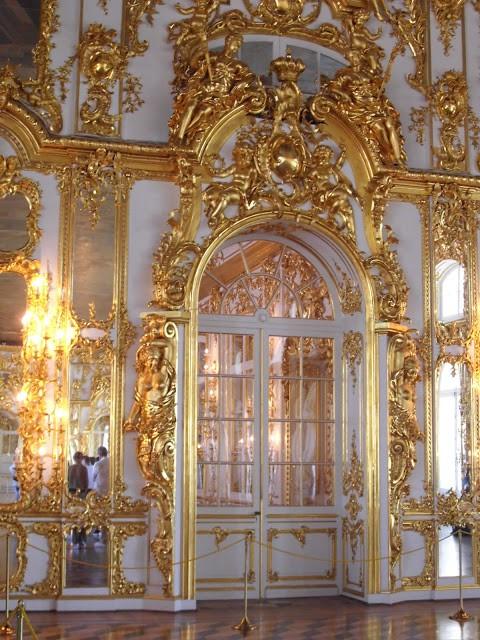 The intricately beautiful ballroom