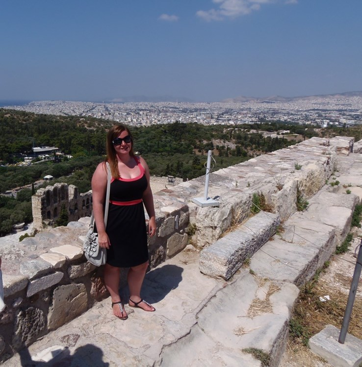 Emma in Athens
